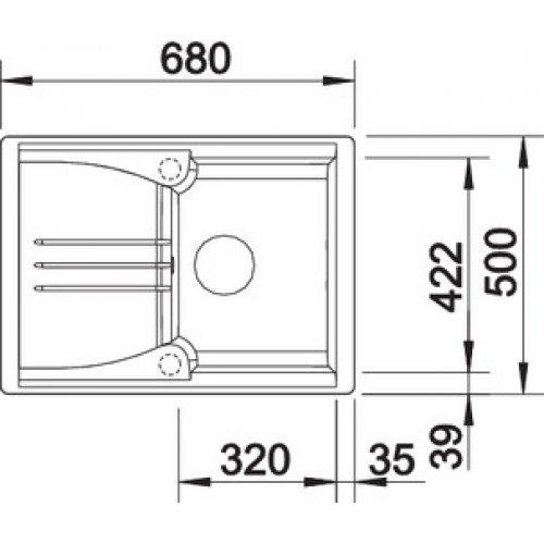 Кухонные мойки Blanco ENOS 40S