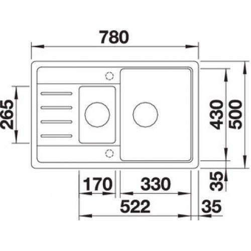 Кухонные мойки Blanco LEGRA 6S Compact