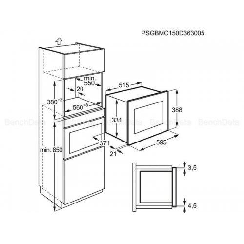 Микроволновые печи Electrolux EMT25207OX