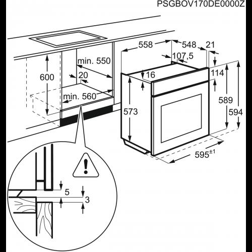 Духовые шкафы Electrolux EOA93434AK