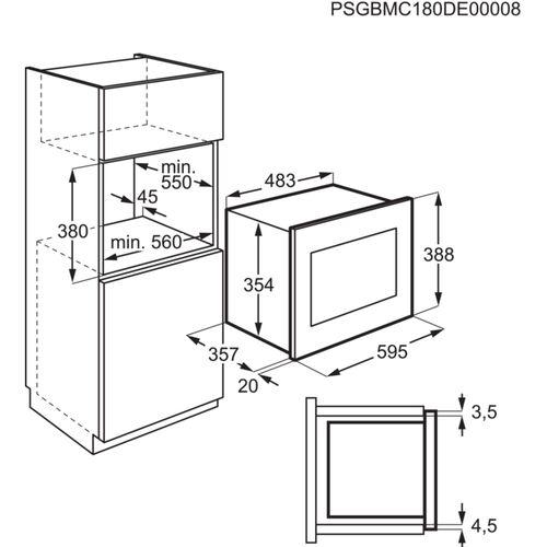 Микроволновые печи Electrolux LMS4253TMX