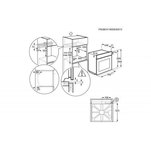 Духовые шкафы Electrolux OKC5H50X