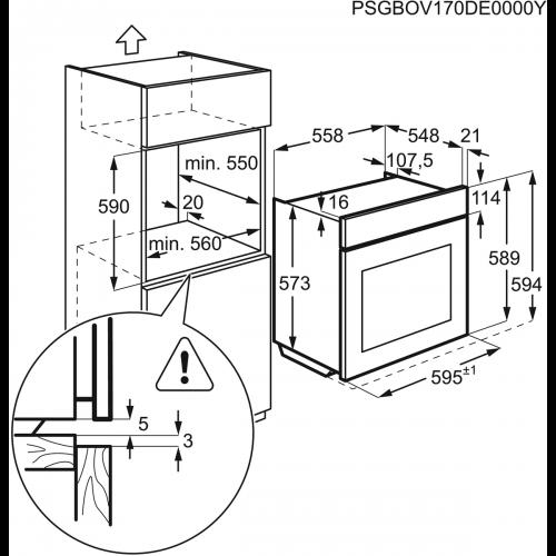 Духовые шкафы Electrolux OPEA2350B