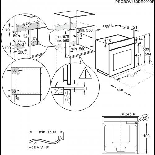 Духовые шкафы Electrolux OPEB8553X