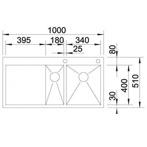 Кухонные мойки Blanco ZEROX 6 S-IF/A