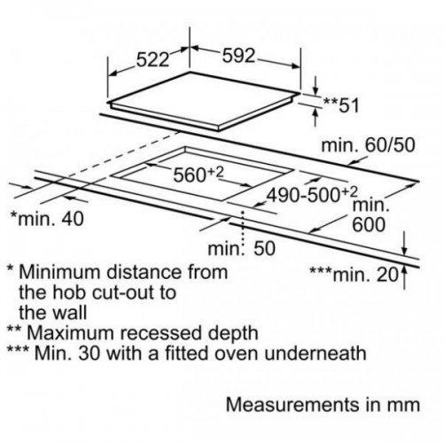 Варочные поверхности Siemens EH651MB17E