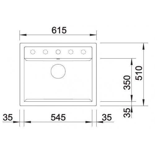 Кухонные мойки Blanco DALAGO 6-F