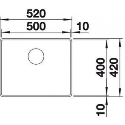 Кухонные мойки Blanco ATTIKA XL 60