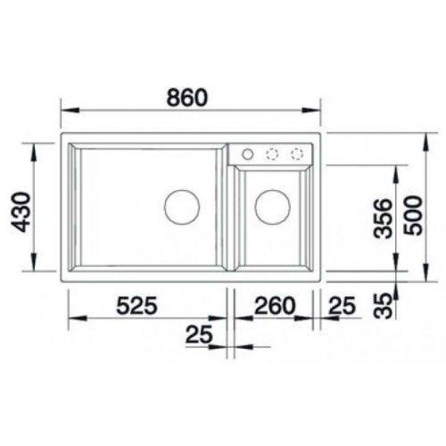 Кухонные мойки Blanco METRA 9