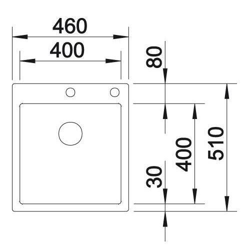 Кухонные мойки Blanco CLARON 400-IF/А