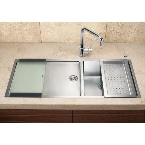 Кухонные мойки Blanco CLARON 400/550-Т-IF