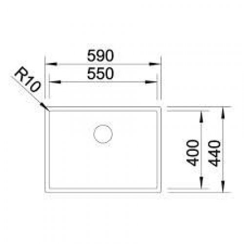 Кухонные мойки Blanco CLARON 550-IF
