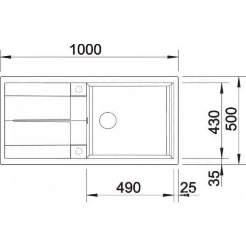 Кухонные мойки Blanco METRA XL 6S