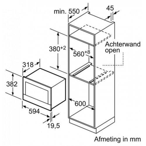 Микроволновые печи Siemens BF634LGS1
