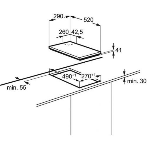 Варочные поверхности Electrolux EGC93322NK