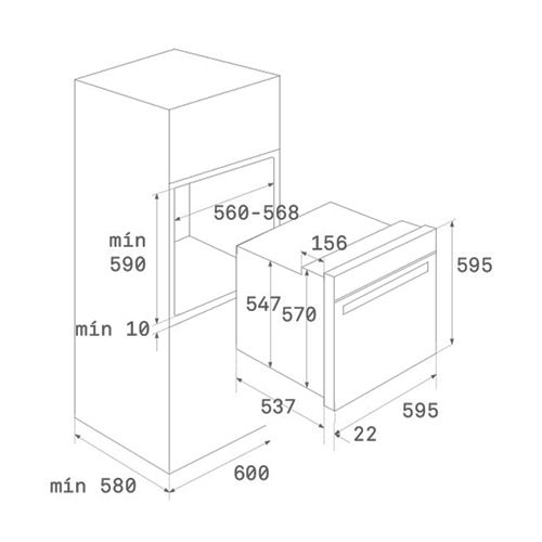 Духовые шкафы Teka HLB 840 P WH