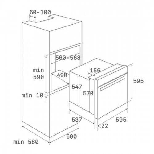 Духовые шкафы Teka HLB 860 P SS