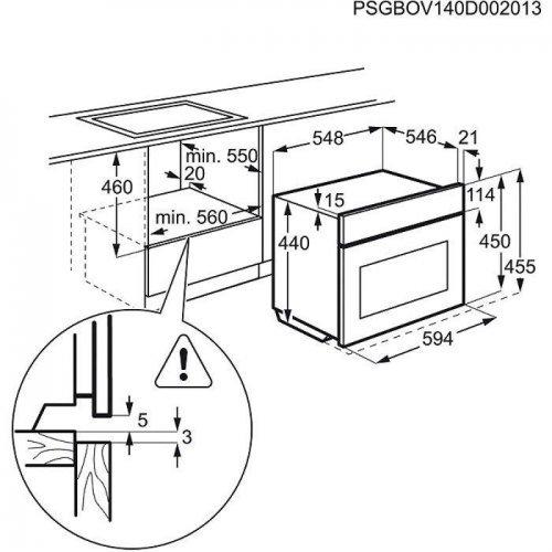 Компактные духовые шкафы и пароварки AEG KMR761000W