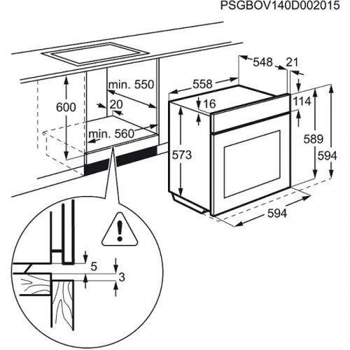 Духовые шкафы Electrolux OPEA2350C